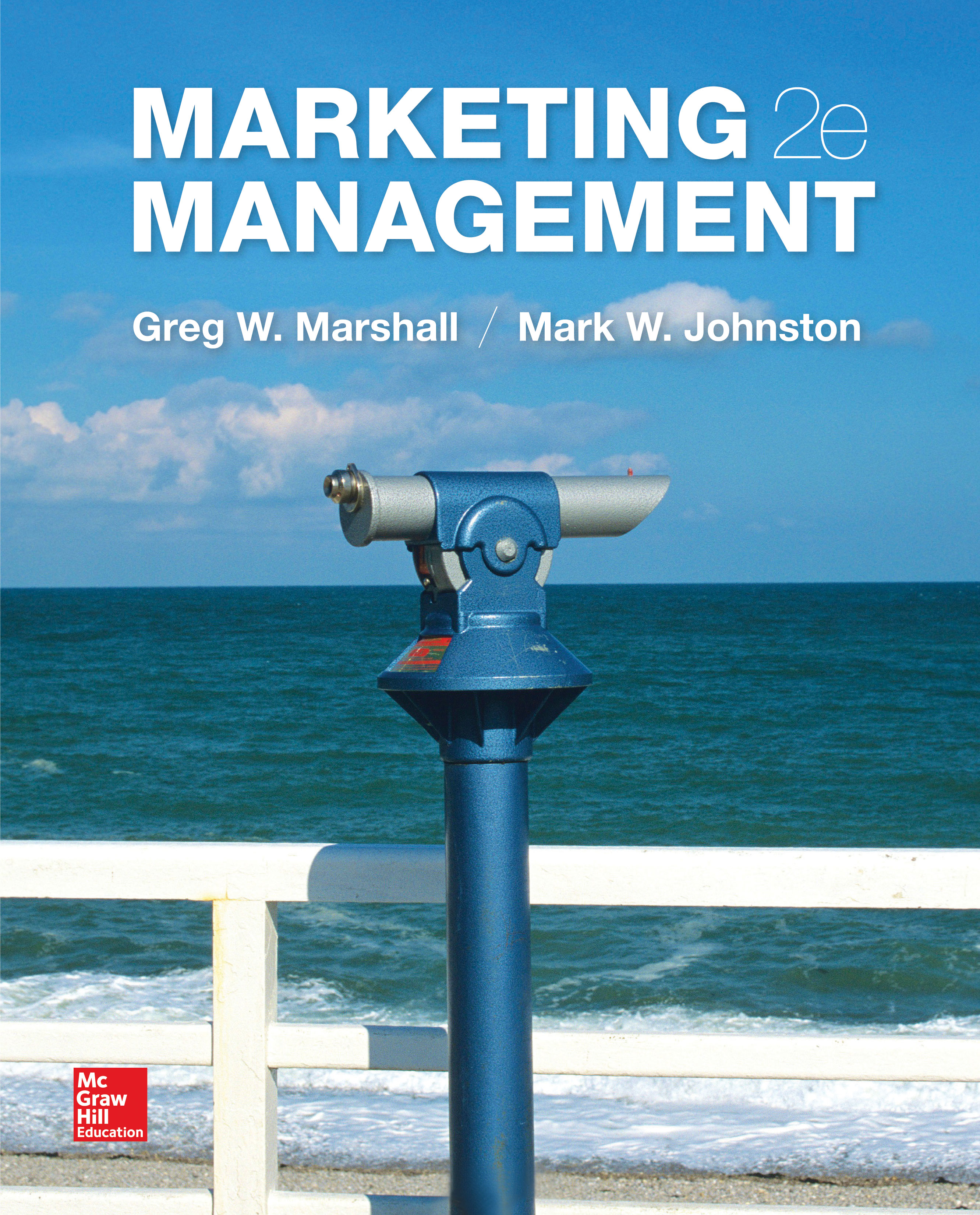 Marketing Management 2e Textbook Cover