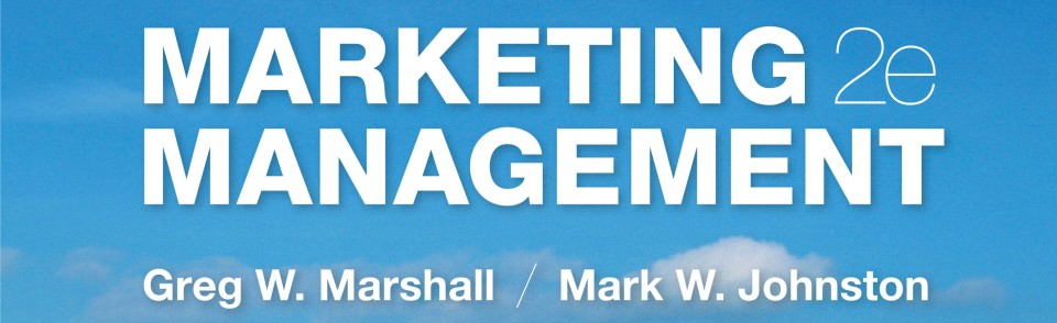 Marketing Management the way it is actually practiced in today's successful organizations.