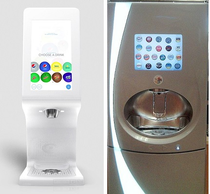 Pepsi Fountain Drink Machine