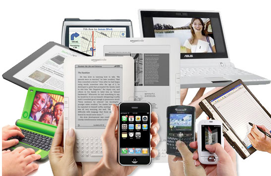 Mobile Devices and Marketing Images