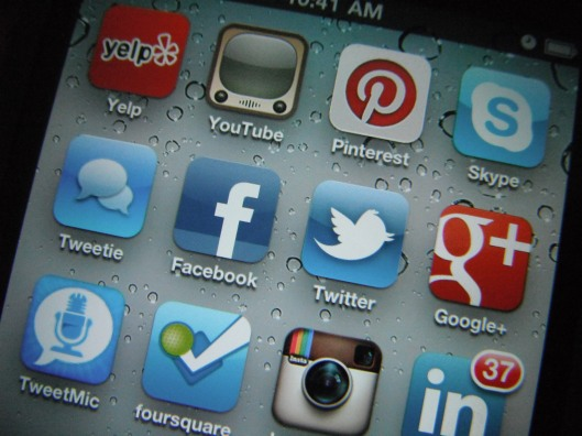 Social Media Icons and Marketing