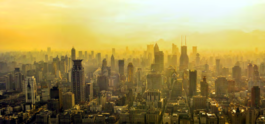 A picture of a city scape.