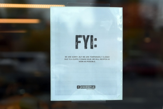 Chipotle Closes Over 40 Restaurants In Portland Area Over E. Coli Outbreak