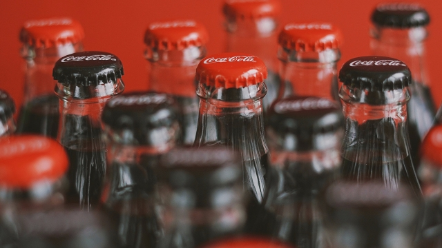 Coca Cola glass bottle tops